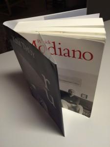 Skyddsomslaget tillhör en annan bok på nattduksbordet, Ru av vietnamesisk-kanadensiska författaren Kim Thúy.