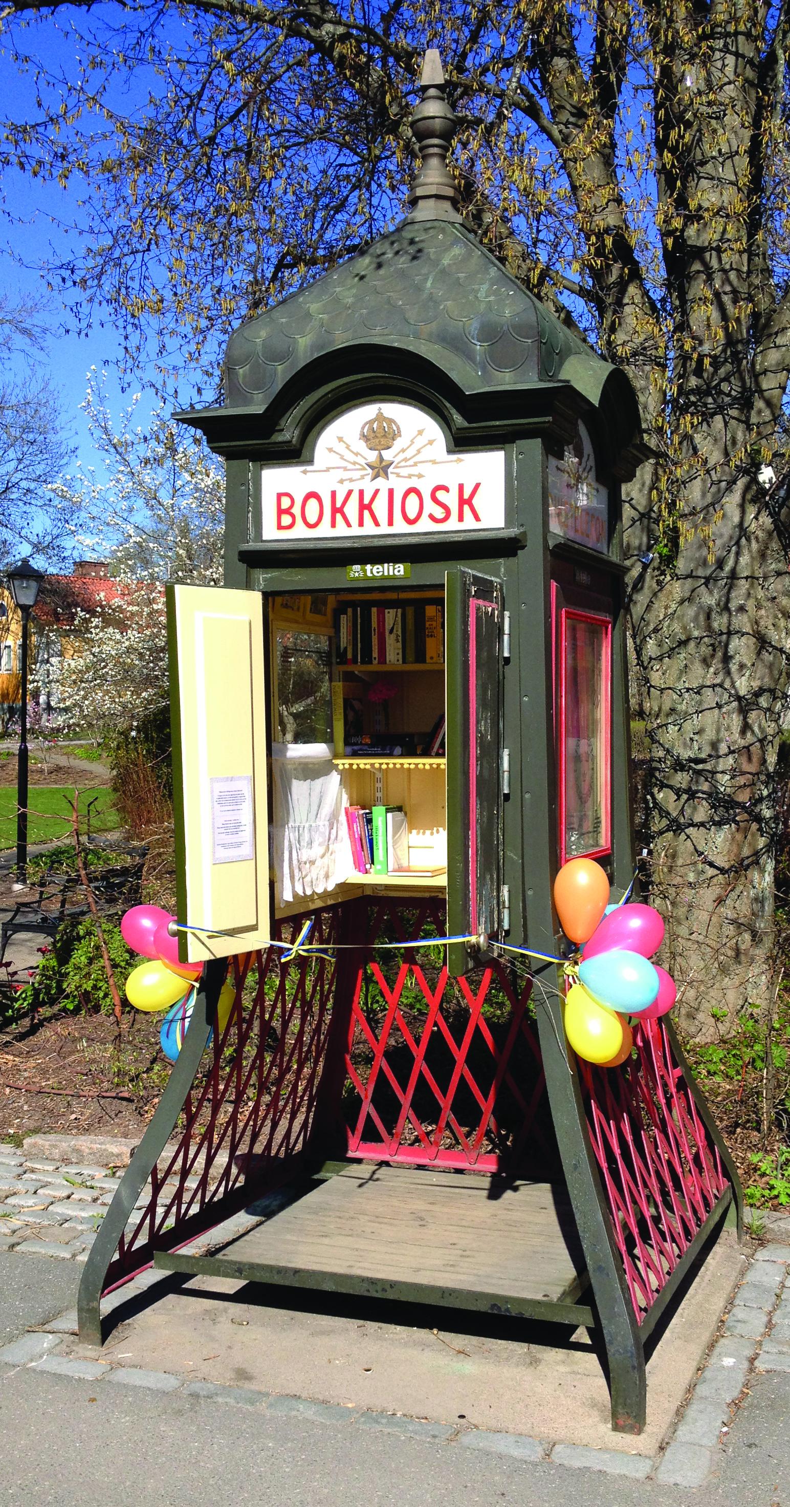 Berättelsen om hur en bokkiosk blev Sigtunas populäraste bild på instagram