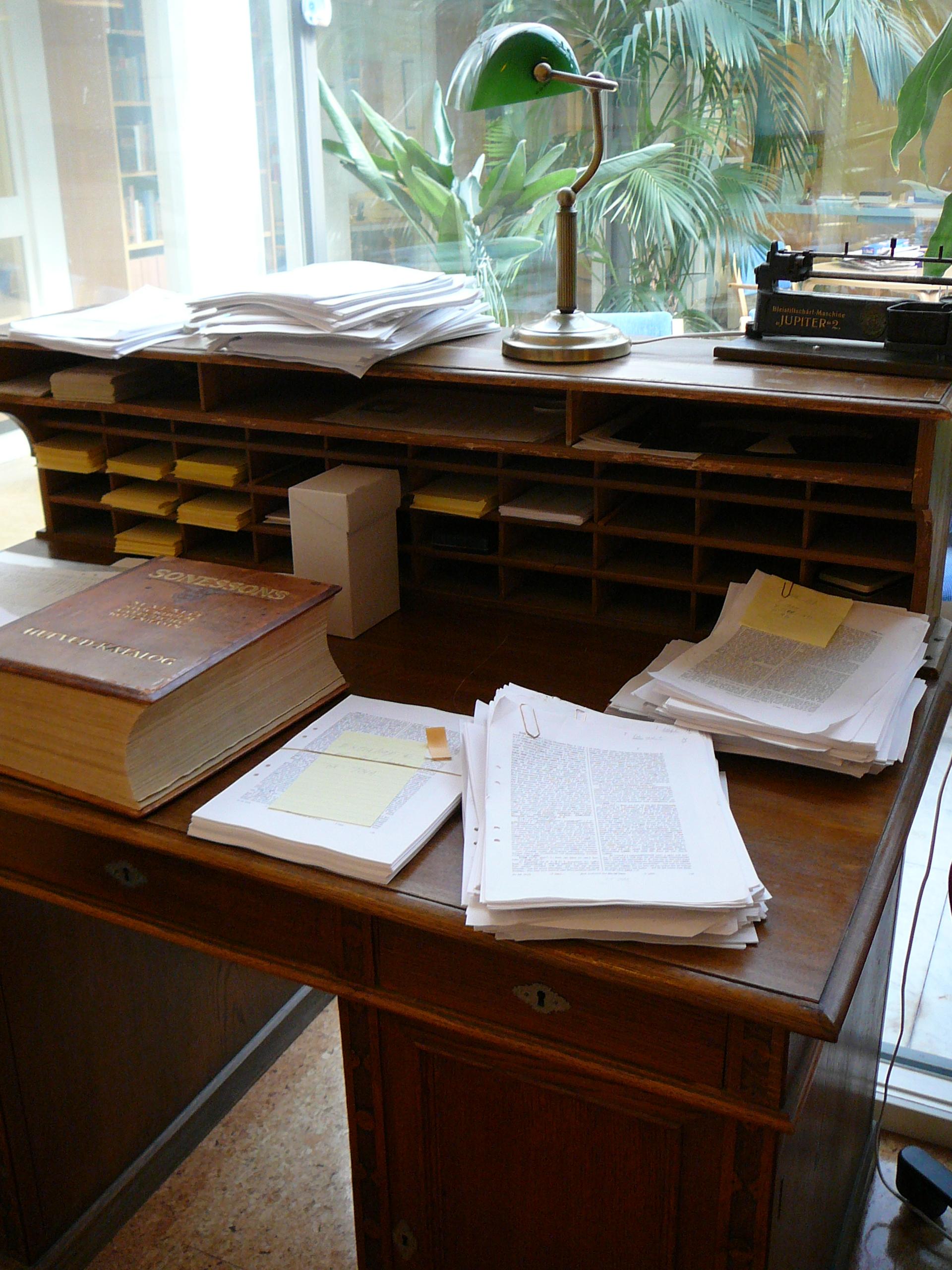 Konkurrens och skiljaktigheter – Redaktionen för SAOB berättar