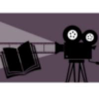 Grupplogga för Bok-och film-cirkel