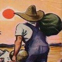 Grupplogga för Läs med Gnesta bibliotek: Vredens druvor
