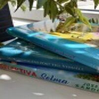 Grupplogga för Feelgoodsommar med Vännäs bibliotek