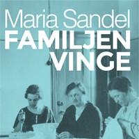 """Grupplogga för Klassikercirkeln december – """"Familjen Vinge"""" av Maria Sandel"""