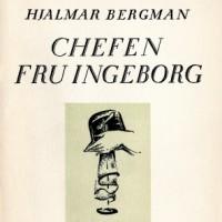 """Grupplogga för Klassikercirkeln februari- """"Chefen fru Ingeborg"""" av Hjalmar Bergman"""