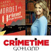 Grupplogga för Crimetimecirkeln – Mordet på Orientexpressen av Agatha Christie