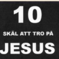 Grupplogga för 10 skäl att tro på Jesus