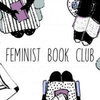 Grupplogga för Feministisk bokcirkel i Lund