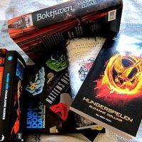 Grupplogga för Ungdomsböcker, fantasy, romantik