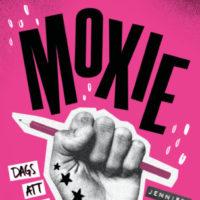 Grupplogga för Sommarbokcirkel Dynamo: Moxie av Jennifer Mathieu 1 juli - 12 juli