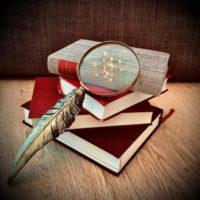 Grupplogga för Marks Biblioteks Bokcirkel