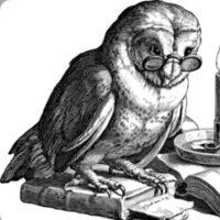 Grupplogga för Online-bokcirkel med inriktning mot klassiker
